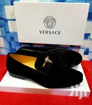 Black Suede Loafers Shoe by Versace | Shoes for sale in Lagos State, Lagos Island