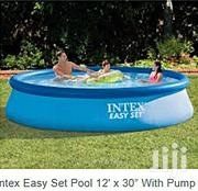 12ft Intex Round Inflatable Swimming Pool With Electric Pump | Toys for sale in Lagos State, Lagos Island