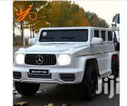 Mercedes Benz Latest 2019 Children Ride On Car Mercedes G65 (White)   Toys for sale in Abuja (FCT) State, Asokoro