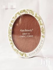 Kiss Beauty 100% Natural Origin Green Tea Pressed Powder | Makeup for sale in Rivers State, Port-Harcourt