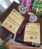 Wooden Plaque Award With Print | Arts & Crafts for sale in Lagos State, Ikorodu