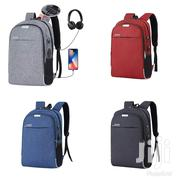 Anti Theft Backpack With USB Cable Charge Port & Free Power Bank | Bags for sale in Lagos State, Alimosho