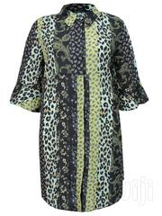 Plus Size High Low Mixed Prints Shirt Dress | Clothing for sale in Lagos State, Lagos Mainland