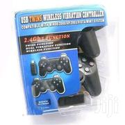 USB Twin Wireless Vibration Controller | Video Game Consoles for sale in Lagos State, Ikeja