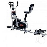 Generic Orbitrack Elliptical Bike + Stepper,Twister Back Rest+Dumbells | Sports Equipment for sale in Kaduna State, Kaduna North