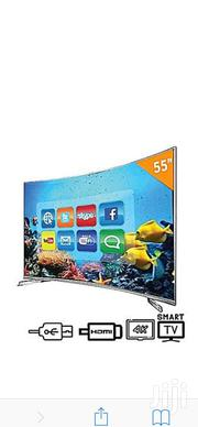 Hisense 55-inch 4K Curved Smart TV | TV & DVD Equipment for sale in Lagos State, Lekki Phase 2