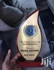 Award Plaque With Print | Arts & Crafts for sale in Lagos State, Lagos Mainland