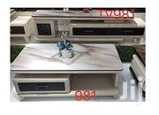 Eneric Generic Modern Glass TV Stand And Table With Drawers | Furniture for sale in Abuja (FCT) State, Central Business District