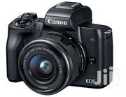Canon EOS Mirrorless Camera Kit W/Ef and 4K Video Black (M50) | Photo & Video Cameras for sale in Lagos State, Alimosho