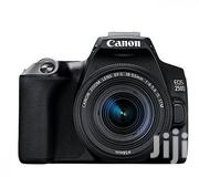 Canon EOS DSLR With 18-55 STM Lens + Articulating Screen + 4K( 250D) | Photo & Video Cameras for sale in Lagos State, Alimosho
