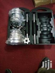 Dumbbell With Case | Sports Equipment for sale in Lagos State, Surulere