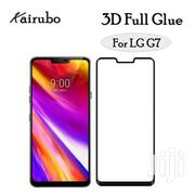 3D Full Glue Tempered Glass Screen Protector for LG G7 | Accessories for Mobile Phones & Tablets for sale in Lagos State, Ikeja