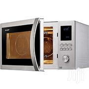 Sharp 42 Litre Combination Microwave Oven Stainless Steel | Kitchen Appliances for sale in Edo State, Benin City