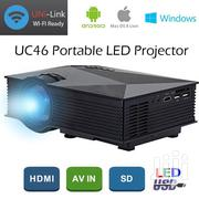 UC46 Simplified Mini LED Wifi Projector | TV & DVD Equipment for sale in Lagos State, Ikeja