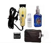 Chaoba Hair Clipper Bag And Aftershave Complete Accessories | Salon Equipment for sale in Delta State, Warri