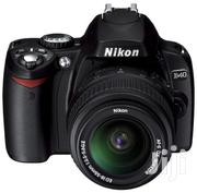 Nikon D40 With 18-55mm (London Used) | Photo & Video Cameras for sale in Lagos State, Ikeja
