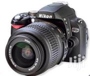 Nikon D60 With 18-55mm (London Used) | Photo & Video Cameras for sale in Lagos State, Ikeja