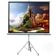 """Projector Screen 72"""" X 72"""" With Tripod Stand   Accessories & Supplies for Electronics for sale in Lagos State, Ikeja"""