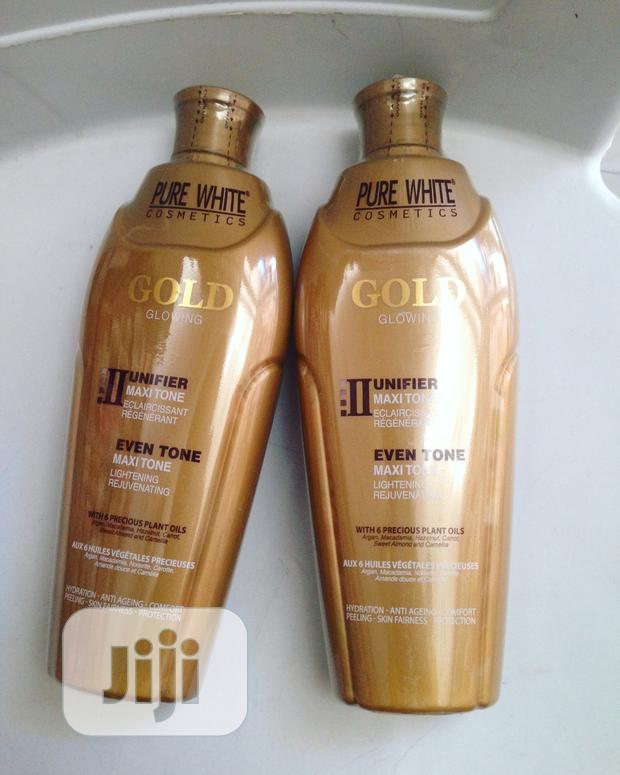Pure White Gold Lotion