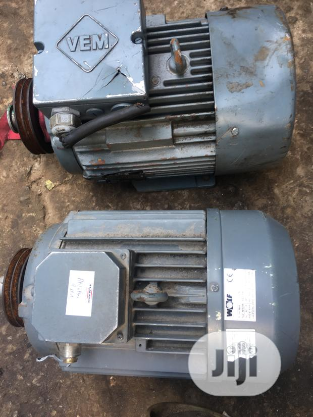 Electric Motor 10hp. 3phase