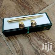 Authentic Designer Cufflink With Pen | Stationery for sale in Lagos State, Lekki Phase 1
