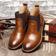 Ankle Brown Leather Boots | Shoes for sale in Lagos State, Ajah