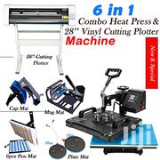 "Generic 6 In1 Combo Heatpress Machine And 28"" Cutting Plotter 