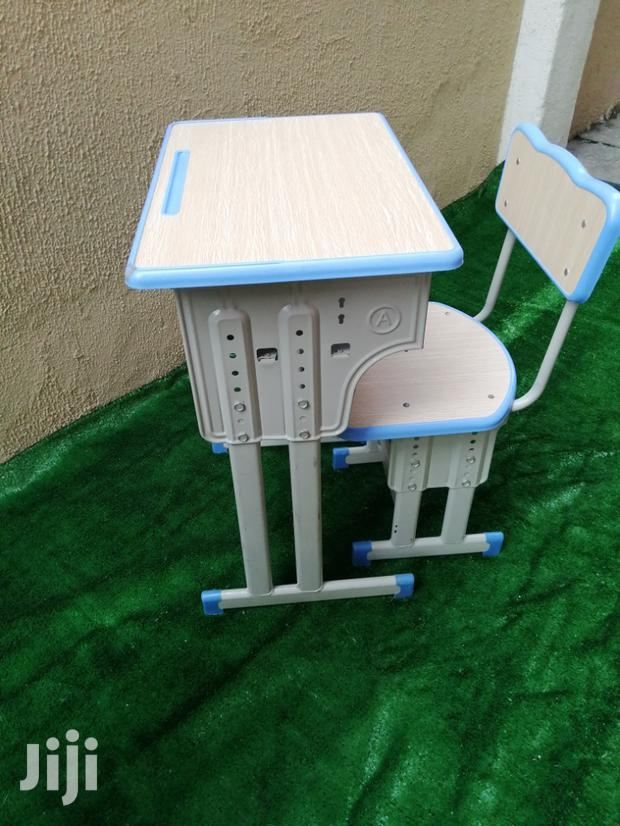 Classroom Modernize Desk And Chairs
