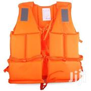 Orange Life Jacket With Reflective | Safety Equipment for sale in Lagos State, Lagos Island
