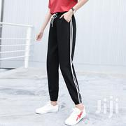Female Linen Track Suit Joggers Pants | Clothing for sale in Lagos State, Yaba