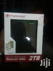 """Transcend 2TB External Hard Disk USB 3.0 3.5"""" 