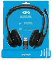 Logitech H390 USB Headset | Headphones for sale in Lagos State, Ikeja