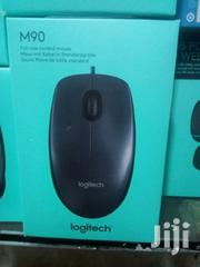 Logitech M90 3-Button USB Wired Optical Scroll Mouse | Computer Accessories  for sale in Lagos State, Ikeja