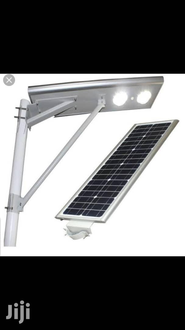 60watt All In One Solar Street Light Is Available With 2 Years Warran
