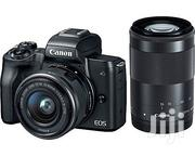 Canon EOS M50 Mirrorless Camera Kit (15-45mm)   Photo & Video Cameras for sale in Lagos State, Ajah