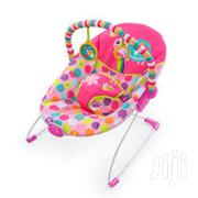Bright Starts Pretty Pink Safari Bouncer | Children's Gear & Safety for sale in Lagos State, Ikeja