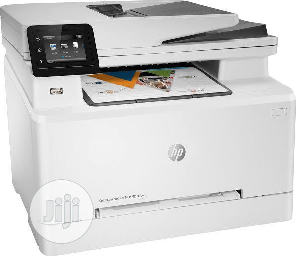 HP Colour Laserjet PRO MFP M281fdw All-In-One Printer.