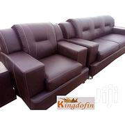 Generic 7 Seater Leather Sofa Settee   Furniture for sale in Lagos State, Ajah
