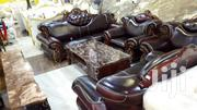 Seven Seaters Pure Italian Leather Chairs Brown | Furniture for sale in Lagos State, Lekki Phase 1