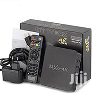 MXQ PRO Quad Core Android 7.1 Smart TV Box HDMI WIFI 4K   TV & DVD Equipment for sale in Lagos State, Ikeja