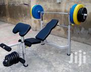 Deluxe American Fitness Home/Commercial Weight Bench Press | Sports Equipment for sale in Imo State, Owerri West