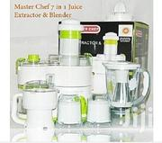 Master Chef Juice Extractor and Blender 7-In-1 | Kitchen Appliances for sale in Rivers State, Port-Harcourt