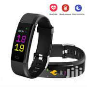 Smart Bracelet Heart Rate,Blood Sport Tracker Push Notifications | Accessories for Mobile Phones & Tablets for sale in Lagos State, Ikeja