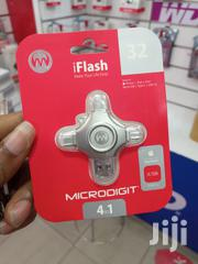 MICRODIGIT Iflash 4 In 1 OTG FLASH DRIVE | Accessories for Mobile Phones & Tablets for sale in Lagos State, Ikeja