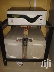 1.5kva Inverter With 2 200ah Deep Cycle Batteries | Solar Energy for sale in Lagos State, Badagry