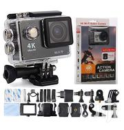 4K Action Camera Cam With Remote 12MP Wifi 2.0inch Waterproof | Photo & Video Cameras for sale in Lagos State, Ikeja
