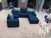 L Shaped Sofa Chair With Extra Single for Your Sitting Room. | Furniture for sale in Lagos State, Ikorodu