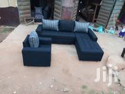 L Shaped Sofa Chair With Extra Single for Your Sitting Room. | Furniture for sale in Lagos State, Maryland
