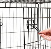 Wire Collapsable Dog Cage | Pet's Accessories for sale in Lagos State, Ifako-Ijaiye