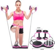 AB Wheel Roller Exercise With Resistance Trainer Band, AB Double Wheel | Sports Equipment for sale in Lagos State, Lagos Island